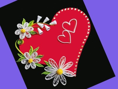 62090f44b Quilling, Paper Christmas cards: make beautiful paper Quilling ...