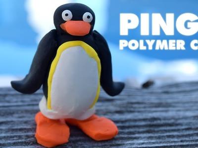 Pingu (The Pingu Show BBC) - Polymer Clay Creation