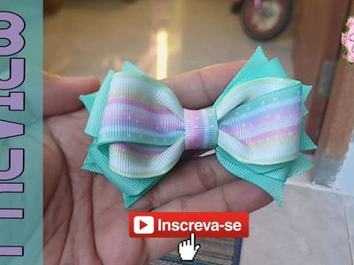 [PREVIEW] laço Emely 2.2 cm ???? Ribbon Bow ???? DIY by Elysia Handmade