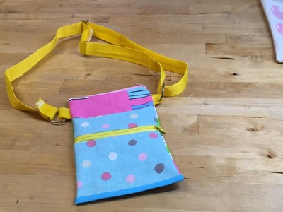 Sell at your next Craft Fair - Easy Serger Overlocker Projects - Small Bag