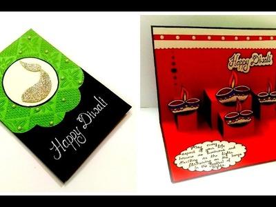 Beautiful Pop Up card for Diwali | diy Diwali card | Complete tutorial