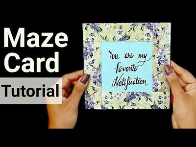 DIY Maze Card Tutorial | Handmade Card Ideas |