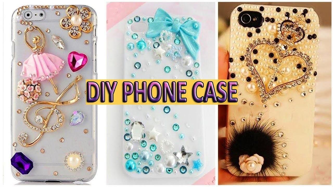 DIY Phone Case Life Hacks, Make Mobile Cover at Home, DIY Mobile Cover