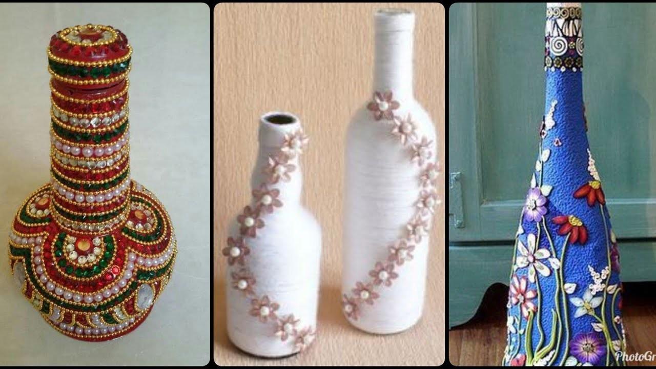 DIY Reuse of waste Bottle # Decoration Ideas
