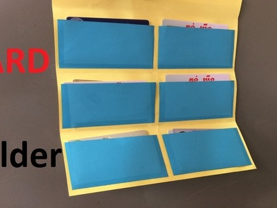 How to make a paper card folder | Make Some Origami Folder Card | Easy Origami Folder Card