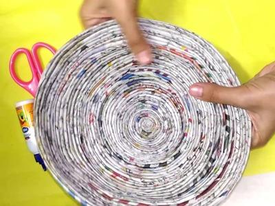 How To Make A Shivaji Maharaj Chatra | Newspaper crafts