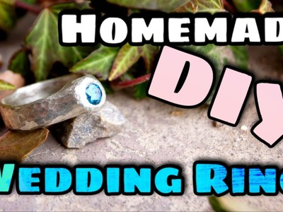 How to Make a Simple Engagement Ring - Start to Finish DIY