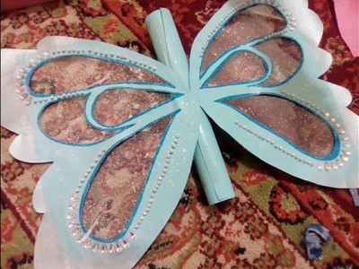 How to make butterfly invitation card by Zt's_arts and cooking