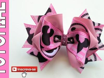Laço Andrea Fita N9 ???? Ribbon Bow ???? DIY by Elysia Handmade
