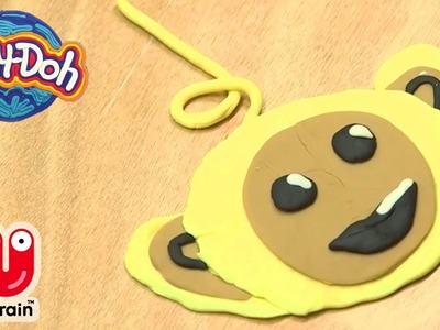 PLAY DOH | How To Make Laa Laa From Play Doh | Teletubbies Crafts for Kids | Crafty Kids