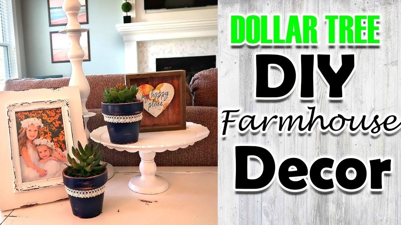 DIY Dollar Tree Farmhouse Room Decor