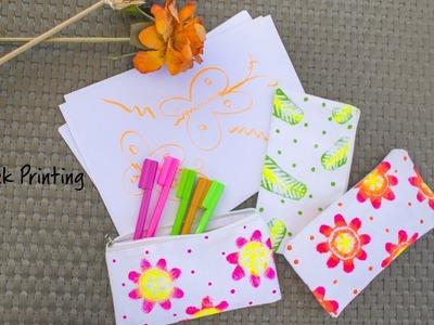DIY Fabric Block Printing | Hobby Ideas India