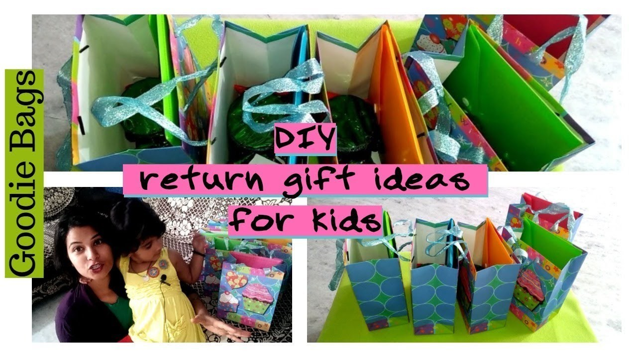 My Daughter Third Birthday Diy Goodie Bag Return Gift Ideas