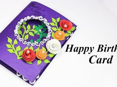 Beautiful Handmade Birthday card idea | Greeting Cards for Birthday