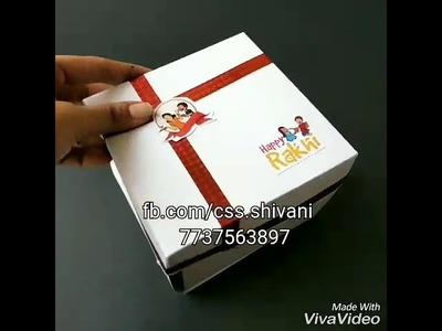 Chocolate box | best gift for rakhi | handmade chocolate box | best gift for friend.brother.sister