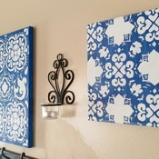 Decorative Floral Paintings