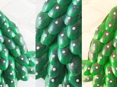 DIY at Home | DIY Peacock Wall Clock | Easy Craft Idea | Amezing Plastic Spoon Hacks Craft |