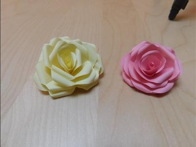 DIY Origami Rose Falten