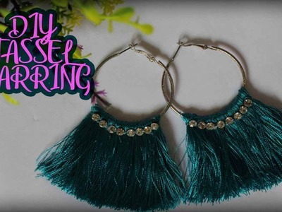 Creative Diy How To Make Simple Daily Wear Earrings Diy How To