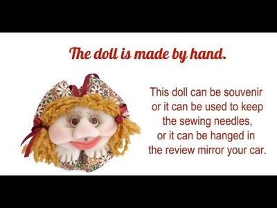 Dolls by handmade gift. Куклы из капрона.