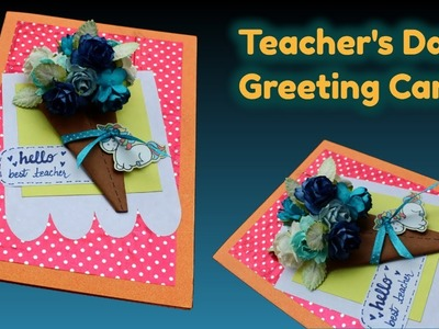 Easy and Quick Handmade Greeting Card for Teacher's Day