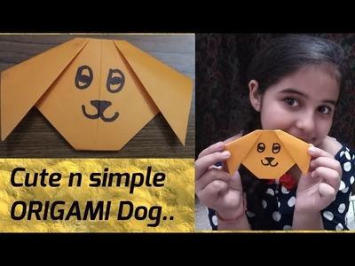 Easy origamy dog for kids | DIY | origami | #kids