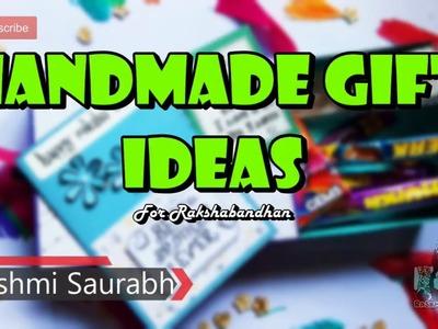 Handmade gift ideas for rakshabandhan | Handmade gift box | rakhi gift box | Rakhi Gift ???? 2018