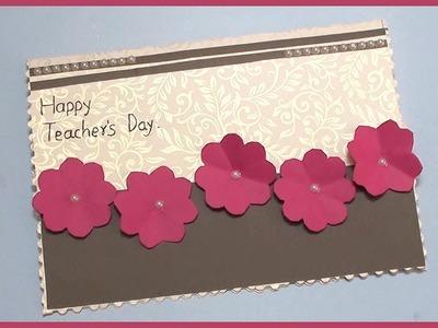 Handmade Greeting Card Ideas For Teachers Day