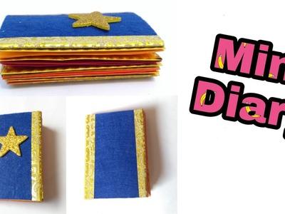 Handmade mini diary | notebook making | gift making | teachers day gift ideas | HMA##153