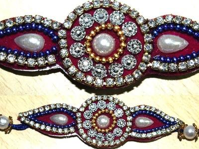 Handmade rakhi with Silk Thread || Unique ideas to make rakhi at home || Rakhi collection 2018