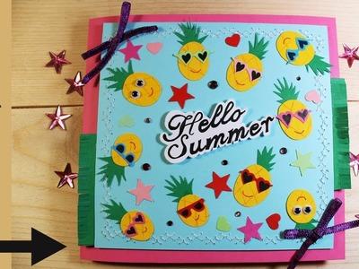 How to Make Card - Summer Holidays DIY - Kartka Wakacyjna 67