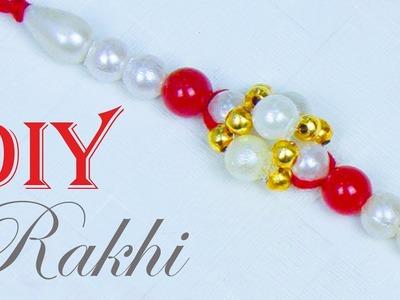 How to make Easy Rakhi at home | Handmade Rakhi | Rakhi Designs for Competition | Beads art