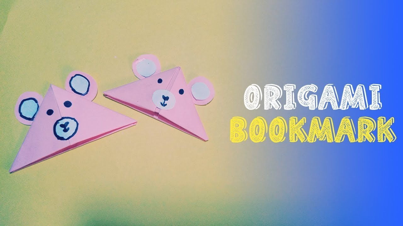 How To Make Origami Bookmark  (Easy Origami)