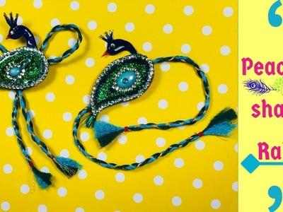 How to make rakhi at home | Handmade rakhi | Easy rakhi design