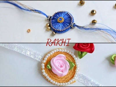 How To Make Rakhi With Silk Thread || DIY Rakhi || Easy Rakhi Design || Inspiration Kidzone
