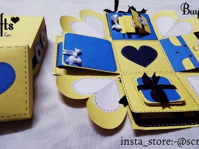 Minion Explosion box ????| Handmade gift ideas | S Crafts | Special | gift box | gift for minion fans.