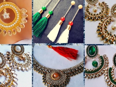 MY BEAUTIFUL COLLECTION OF HANDMADE JEWELLERY.HOORIYA STYLE.