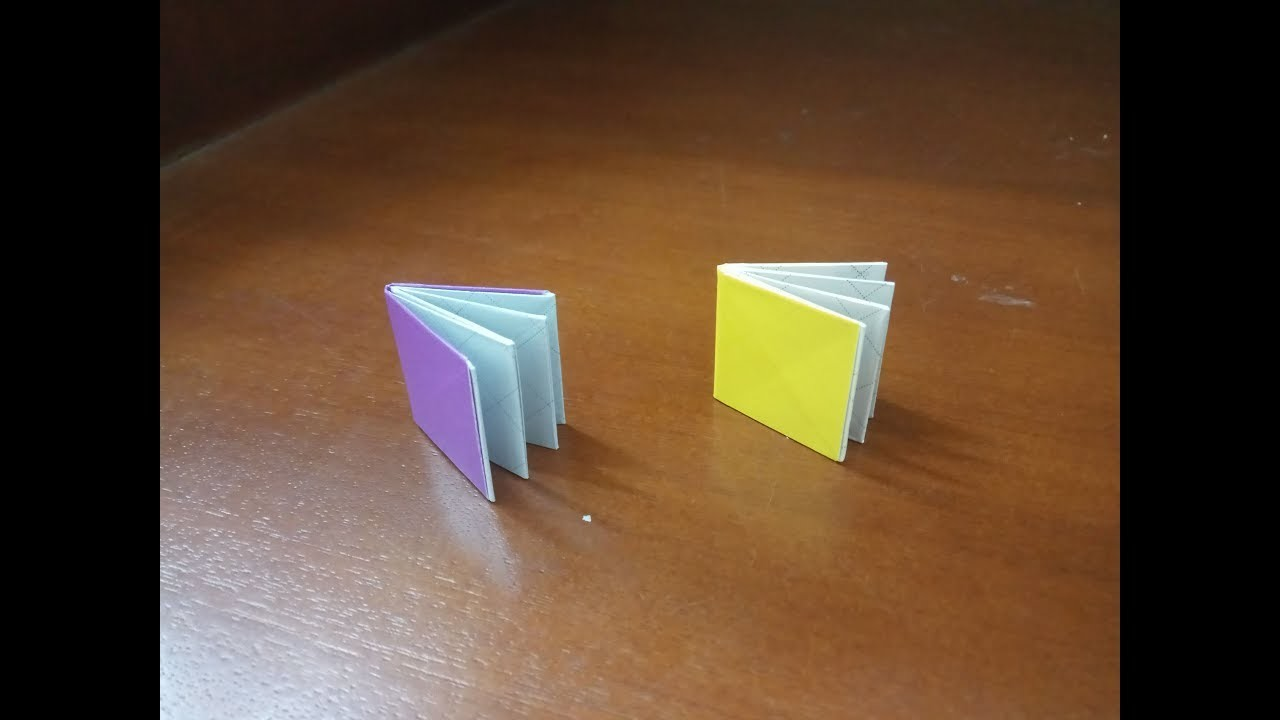 how to make an origami book easy