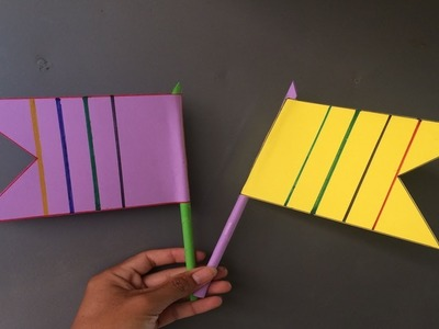 Origami Easy Flag | How to make a paper Flag