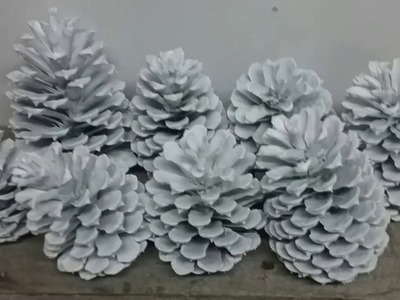 Pine Cones, Painted Pine Cones, Pine Cone Decorations, Christmas Ideas