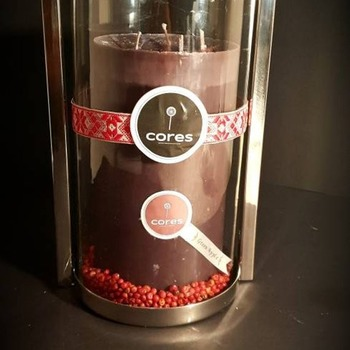 Pink Apple Peppercorn Volcano Candle