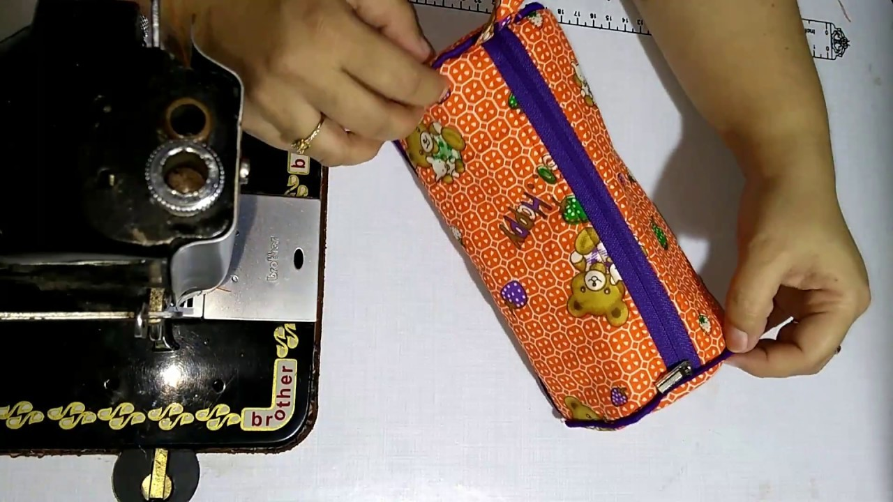 Soul Art Small Pencil Pouch, Simple and Easy Multipurpose kit, DIY Gift for Rakshabandhan