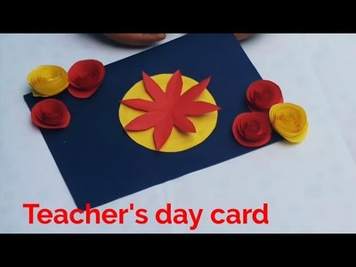 Teacher's day card handmade,Teacher's day gift ideas,greeting cards crafts ideas