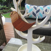 Christmas Tree ornament solid Australian timber handmade