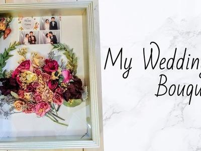 D.I.Y: My Wedding Shadow Box Bouquet
