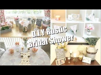 D.I.Y Rustic Bridal Shower. Shower Haul