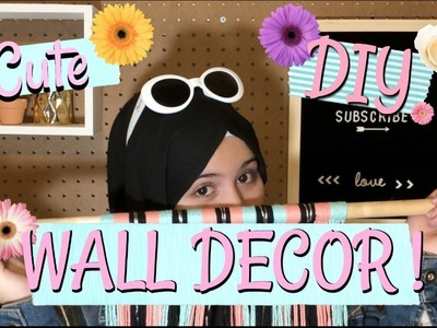 Decor Facile est tres mignon ???? | Cute Diy Wall Decor !  |IMENES DIYS