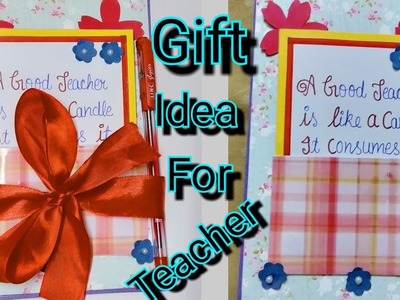 DIY Birthday Gift Idea for teacher | Birthday card for Teacher | Best Gift For Teacher |