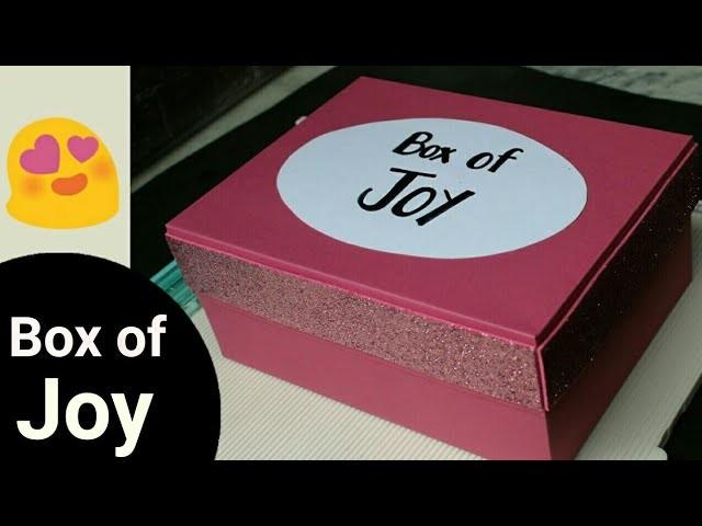 Diy Gift Box Of Joy For Best Friend Boy