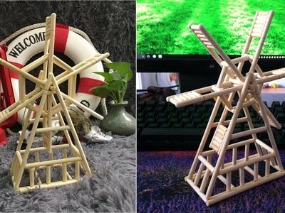 DIY Icecream Stick Windmill | DIY Popsicle Stick Windmill